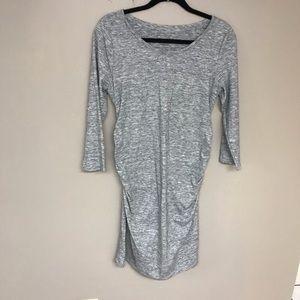 Liz Lange Space-dye Maternity Dress